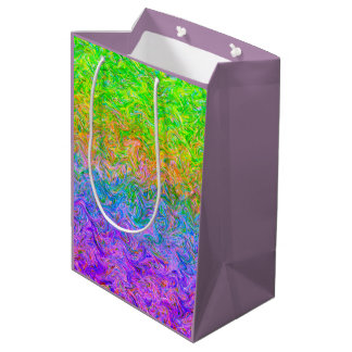 Geschenk-Taschen-Flüssigkeits-Farben Mittlere Geschenktüte