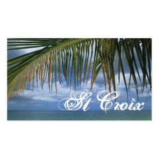 Geschenk-Umbau St. Croix Visitenkartenvorlagen