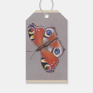 Geschenk-Umbauten mit Pfau-Schmetterlings-Entwurf Geschenkanhänger