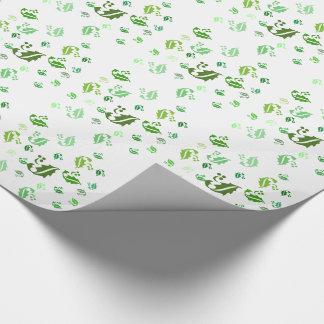 Geschenk-Verpackung - durcheinandergebrachtes Geschenkpapier
