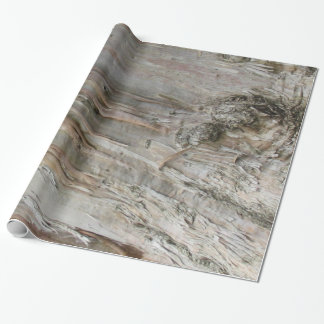 Geschenk-Verpackung - Eukalyptus-Barke (v.2) Geschenkpapier