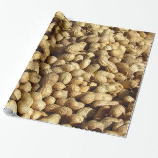 Geschenk-Verpackung - Stapel der Erdnüsse Geschenkpapier
