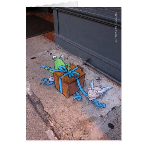 Geschenk-Verpackung von Sluggo Karte
