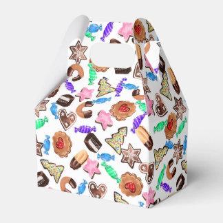 Geschenkbox mit Weihnachtsgebäck Geschenkschachtel