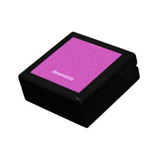Geschenkboxen, Schmuck-Kasten, heißes Rosa Schmuckschachtel