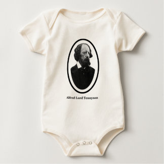 Geschenke Alfred-Lord-Tennyson Title The MUSEUM Baby Strampler
