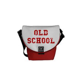 Geschenke der alte Schulrote Bote-Tasche | Kuriertasche