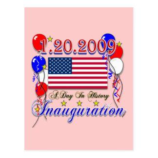 Geschenke der Einweihungs-2009 und Postkarte