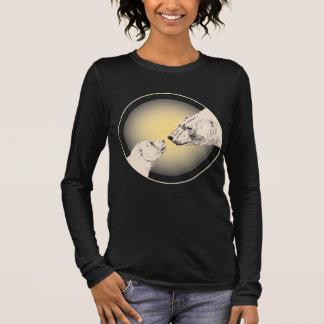 Geschenke der Mutter der polarer Bärn-Shirt-Frauen Langarm T-Shirt