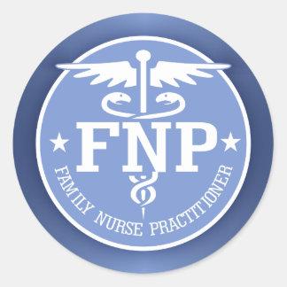 Geschenke des Caduceus FNP2 Runde Sticker