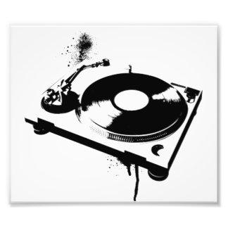Geschenke des Diskjockey DJ-Turntable-Foto-Druck-  Fotodruck