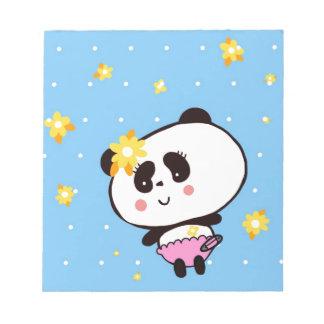 Geschenke für Mädchen-die niedlichen Panda-Bären Notizblock