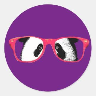 Geschenke für Mädchen-die niedlichen Panda-Bären Runder Aufkleber