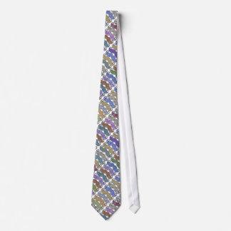 Geschenke Herr-Mustache Retro Vintage Hipster Krawatte