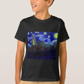 "Geschenke: ""Starry Nacht Nashvilles"" durch Jack T-Shirt"