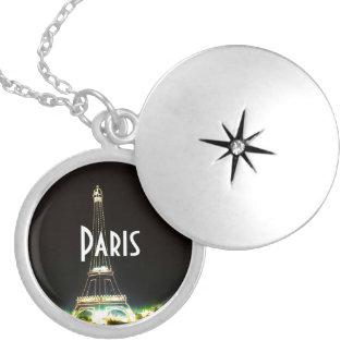 Geschenke und Andenken Paris Frankreich Versilberte Kette