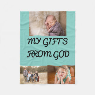 Geschenke vom Gott Fleecedecke