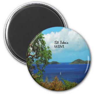Geschenke von den Karibischen Meeren Runder Magnet 5,1 Cm