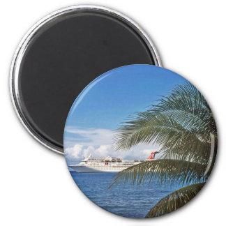 Geschenke von den Karibischen Meeren Runder Magnet 5,7 Cm