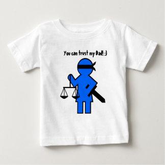 Geschenkidee für Rechtsanwalt Baby T-shirt