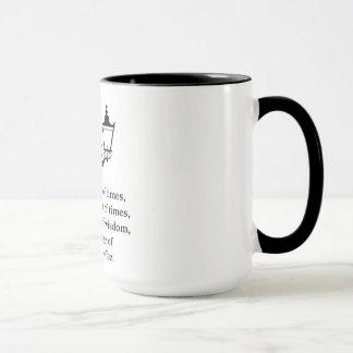 Geschichte der zwei Stadt-Tasse Tasse