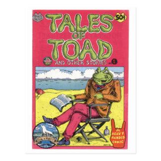 Geschichten der Kröte #1, 1970 Postkarte