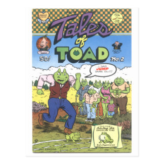 Geschichten der Kröte #2, 1971 Postkarte