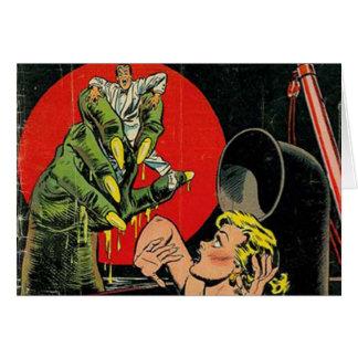 Geschichten des Horror-Comic Karte