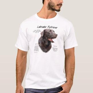 Geschichtsentwurf Labrador retrievers (Schokolade) T-Shirt