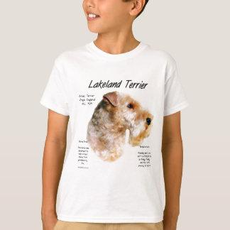 Geschichtsentwurf Lakelands Terrier T-Shirt