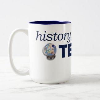 GeschichtsTech riesig, zwei-getonte Tasse