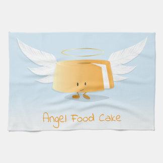 Geschirrtuch des Engels-Nahrungsmittelkuchen-|