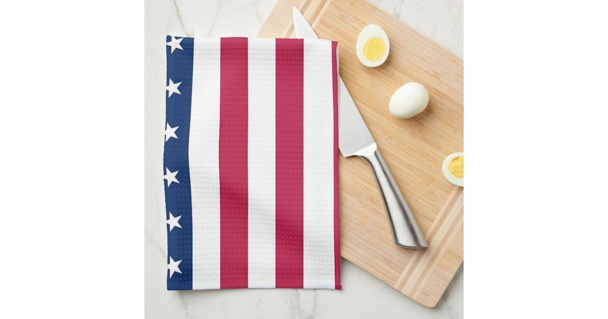 Geschirrtuch mit Flagge von USA  Zazzle