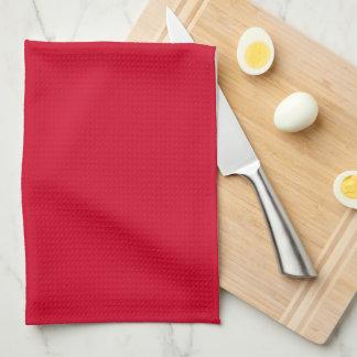 Geschirrtuch-uni Rot Küchentuch
