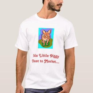 Geschlachtetes piggy lustiges T-Shirt