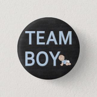 Geschlecht decken Baby-Party-kundenspezifischen Runder Button 2,5 Cm