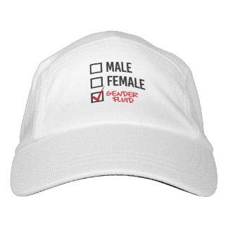 Geschlechts-Flüssigkeit - sorgen Sie nicht sich um Headsweats Kappe