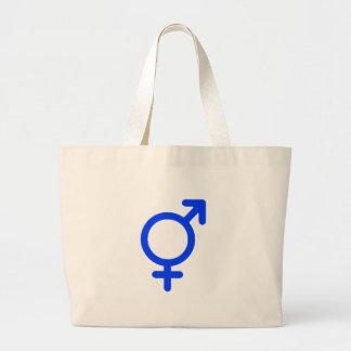 Geschlechts-neutrales Blau die MUSEUM Zazzle Gesch Leinentasche