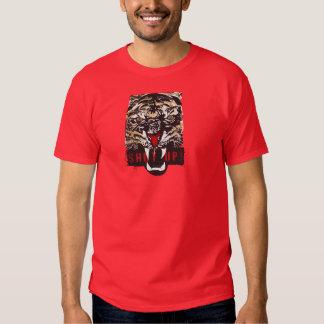 """""""Geschlossenes"""" Tiger-Shirt Hemd"""