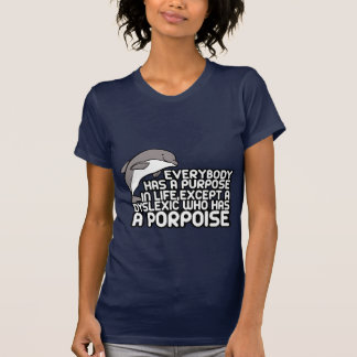 Geschmackloses dislektisches Sprichwort T-Shirt