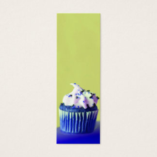 Geschmackvolle Kuchen-Visitenkarte Mini Visitenkarte