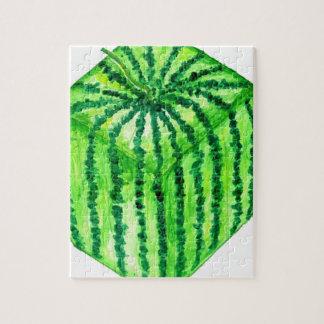 Geschmackvolle Wassermelone Art2 Puzzle