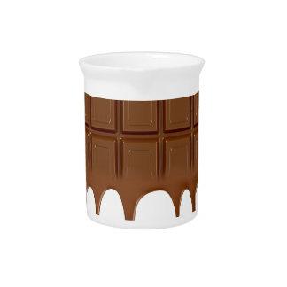 Geschmolzenes Schokoladen-Bar Getränke Pitcher