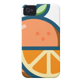 Geschnittene Orange iPhone 4 Cover