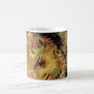 Geschnittene Sonnenblumen Van Gogh 2, Vintage Kaffeetasse