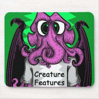 Geschöpf kennzeichnet das Logo-Shirt, das Cthulhu Mauspads