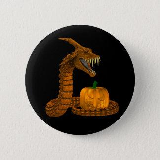 Geschöpf-Schlange Runder Button 5,1 Cm