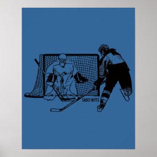 Geschossen auf dem NettoHockey (weiblich) Poster
