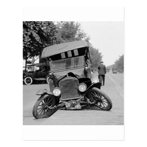 Geschrägter Feet, 1922 Postkarte