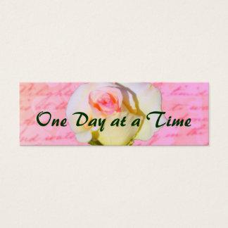 Geschrieben mit Rose ODAT Mini Visitenkarte